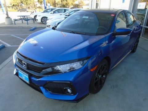 New 2017 Honda Civic Sport With Navigation